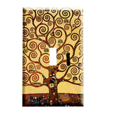 Gustav Klimt The Tree of Life Art Nouveau Switch Plate Cover