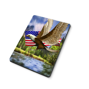 American Eagle and Flag Mouse Pad