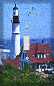 Harbor Lighthouse Switch Plate Cover