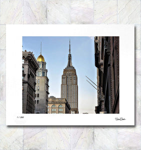 Empire Street Limited Edition Signed Fine Art Print By Gina Brake