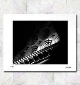 Architectural Classic Ceiling Limited Edition Signed Fine Art Print By Gina Brake