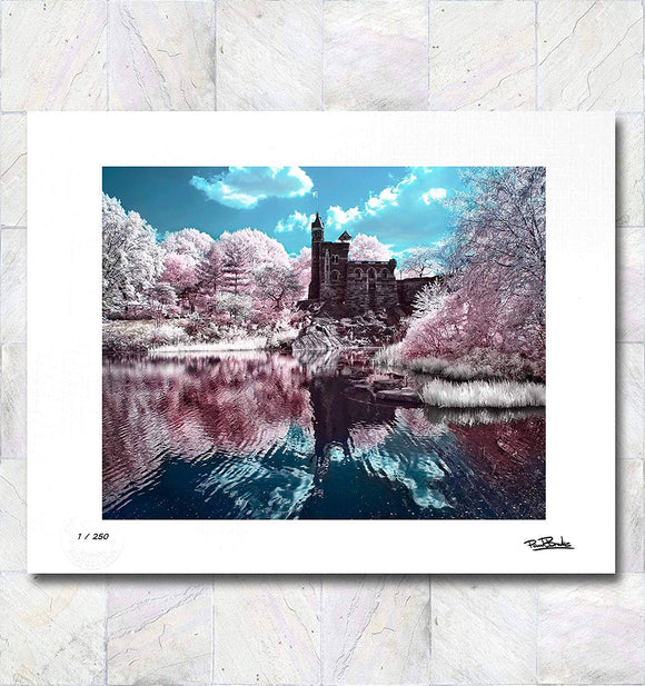 Belevedere Castle Limited Edition Signed Fine Art Print By Paul Brake