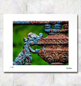 Rust Vision Limited Edition Signed Fine Art Print By Gina Brake