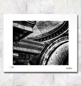 Architecture Abstract Limited Edition Signed Fine Art Print By Gina Brake