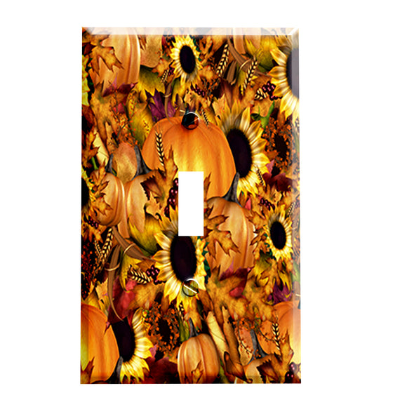 Autumn Harvest Switch Plate Cover
