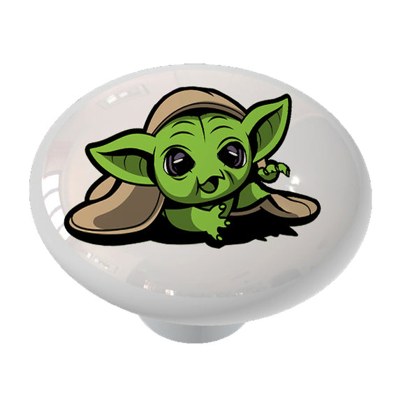Baby Yoda Ceramic Drawer Knob