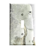 Blizzard Trooper Switch Plate Cover - Star Wars Decor