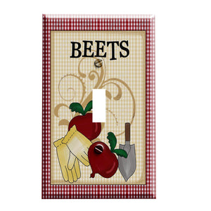 Country Beets Switch Plate