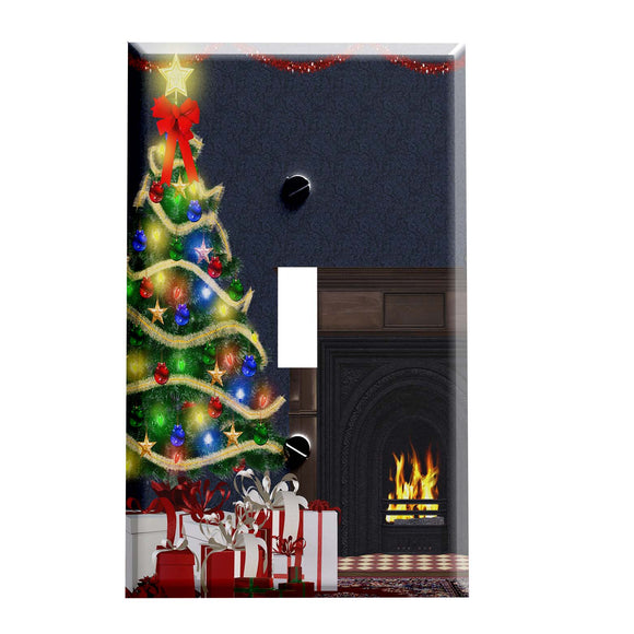 Cozy Time Christmas Switch Plate Cover - Christmas Decorations