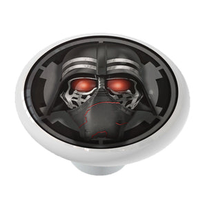 Darth Ren Ceramic Drawer Knob | Rise of Skywalker | Kylo Ren | Darth Vader Decor