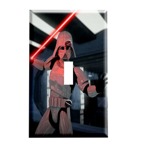 Darth Trooper Switch Plate Cover - Star Wars Home Decor