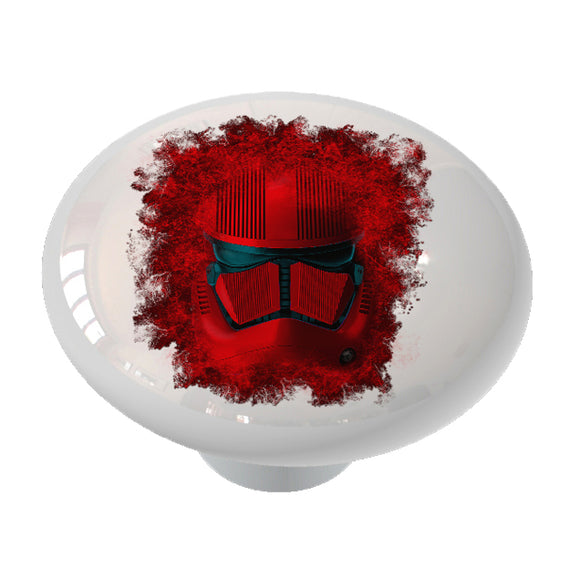 Sith Trooper Ceramic Drawer Knob
