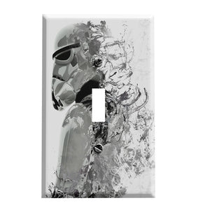 Storm Space Trooper Switch Plate - Star Wars Inspired Decor