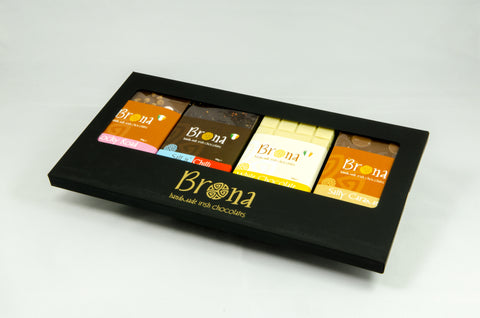 Selection of Specially Selected Brona Chocolate Bars
