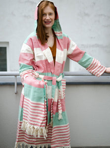 Bohemian Series 100% Cotton Bathrobes - New Colors Available!