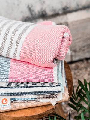 Bohemian Series- 100% Cotton Turkish Towel