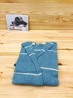 GARAGE SALE! Traditional Series Kids Bathrobes - 100% Natural Cotton