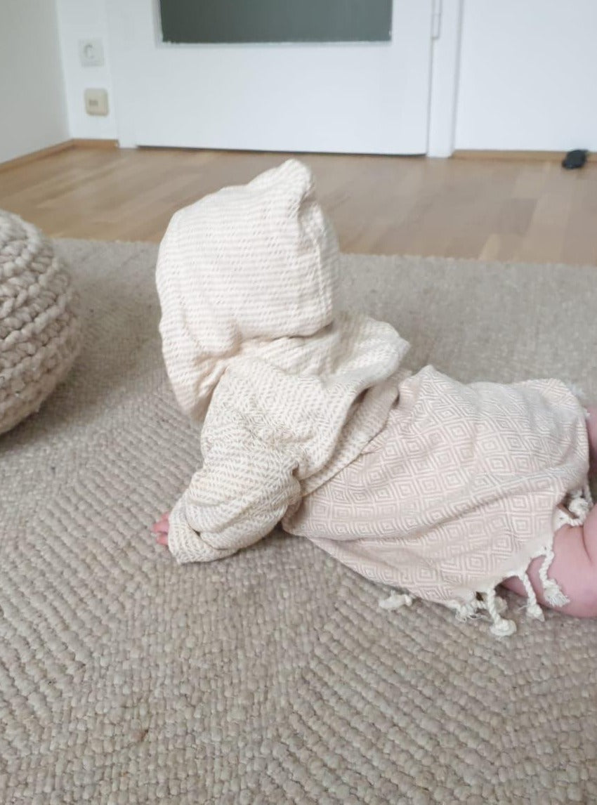 Nordic Series- Newborn & Kids Bathrobe