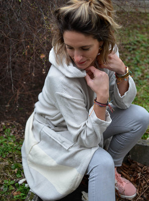 Contemporary Series- 100% Cotton Bathrobes