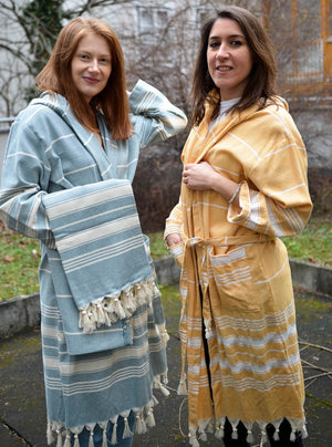 Traditional Series- 100% Cotton Bathrobes