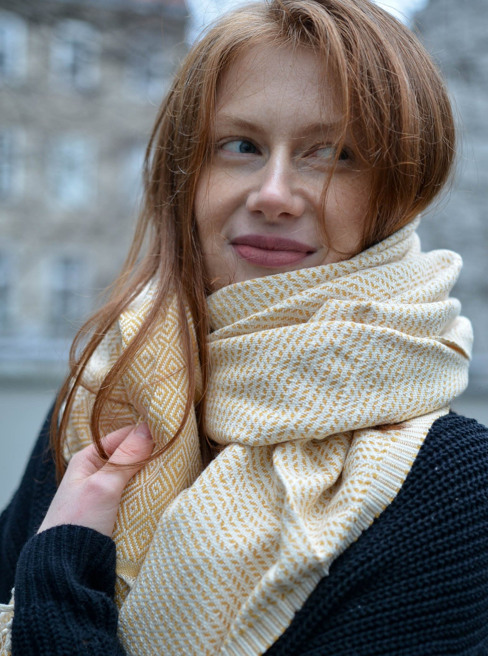Nordic Series Scarves & Shawls - 100% Cotton Turkish Towels