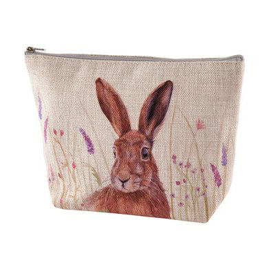 Hare cosmetic pouch