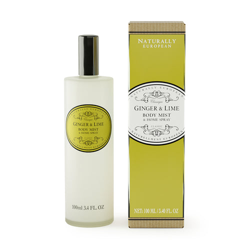 ginger and lime home and body spray