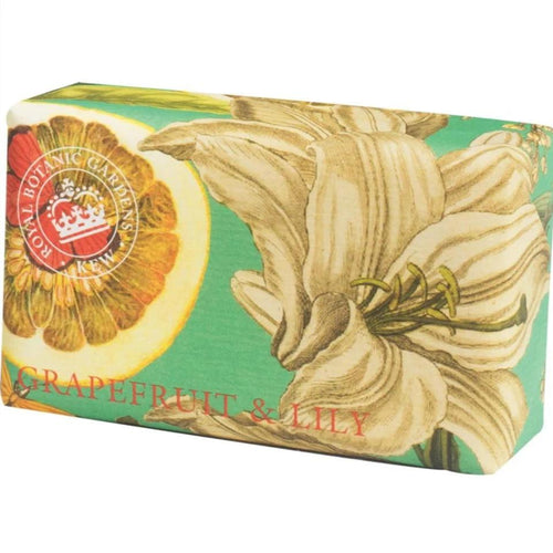 Kew Gardens Soap - Grapefruit & Lily