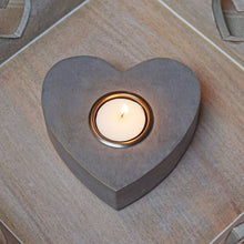 Load image into Gallery viewer, large heart tea light holder