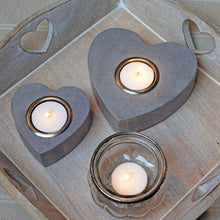 Load image into Gallery viewer, heart tea light holders