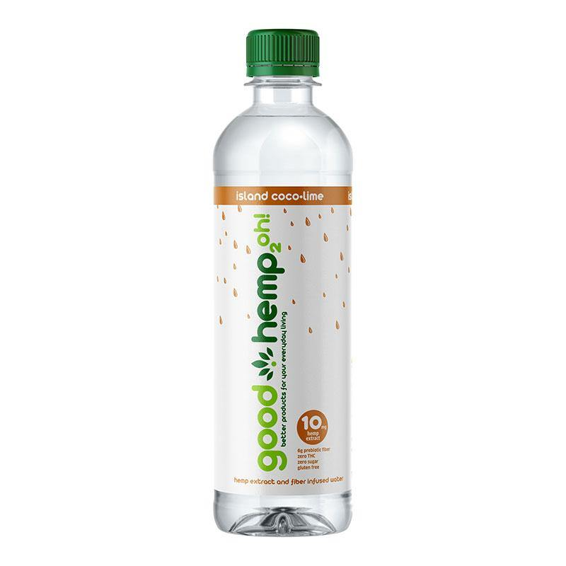 Good Hemp 2oh! - Island Coco-Lime | Hemp extract infused water (12 pk)