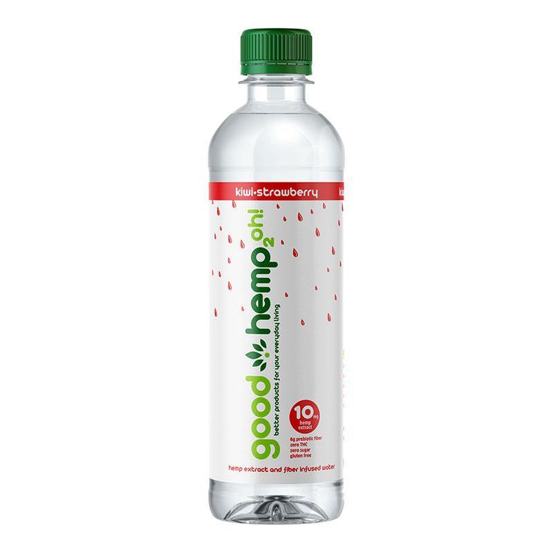 Good Hemp 2oh! - Kiwi-Strawberry | Hemp extract infused water (12 pk)