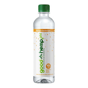 Good Hemp 2oh! - Mango-Fandango | Hemp extract infused water (12 pk)