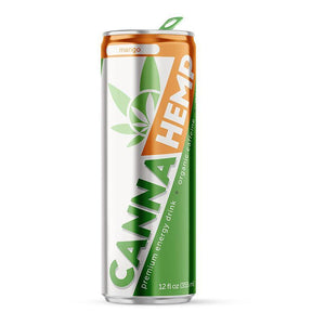 Canna Hemp - Mango | Hemp extract infused premium energy drink (12 pk)