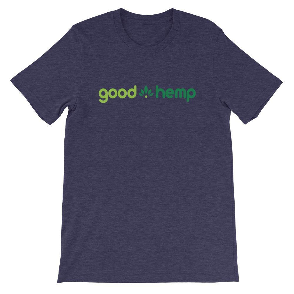 Short-Sleeve Unisex T-Shirt, Navy | Good Hemp Brand Apparel
