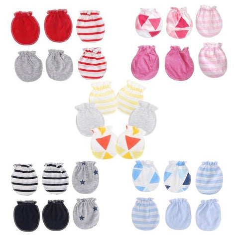 ANTI SCRATCHING GLOVES FOR NEWBORN babies