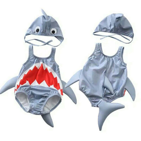 Baby Shark Swimwear for Babies - tiny-tots-eco