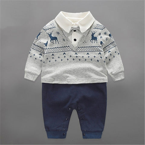 Cotton Gentleman Outfit - tiny-tots-eco