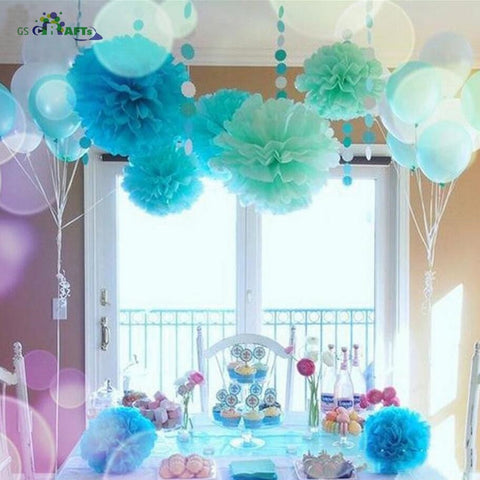 Paper Flower Balls Party Decorations - tiny-tots-eco