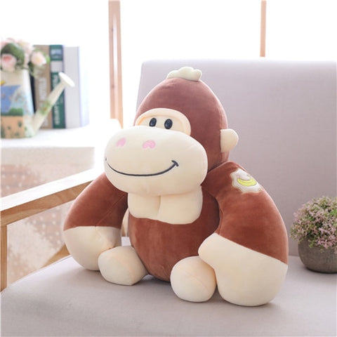 1pc 28cm Lovely Gorilla Plush Toys - tiny-tots-eco