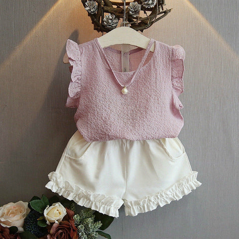 Stylish Summer Outfit for Baby Girls - tiny-tots-eco