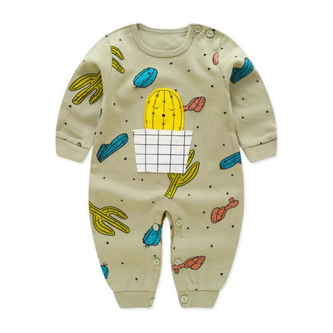 Adorable Comfy Cotton Pajamas For Babies - tiny-tots-eco