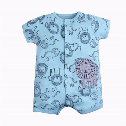 Cotton Summer Jumpsuit For Babies - tiny-tots-eco