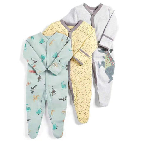 Comfortable Cotton Rompers For Babies - tiny-tots-eco