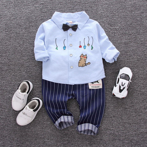 Spring Baby Boy Clothes Suits - tiny-tots-eco