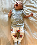 Neutral Summer T shirt + Pants Baby Clothes - tiny-tots-eco