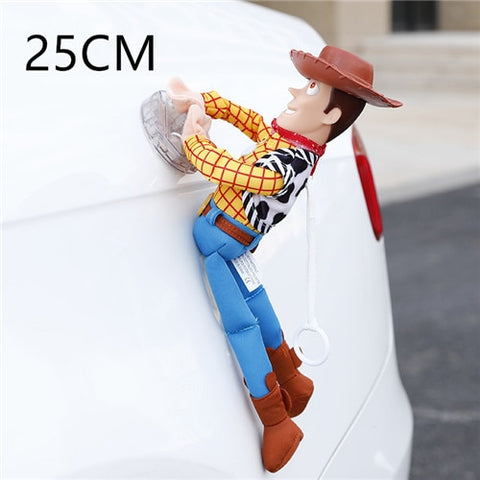 25-45cm Lovely Toy Story Woody Or Buzz Car Plush Toy - tiny-tots-eco