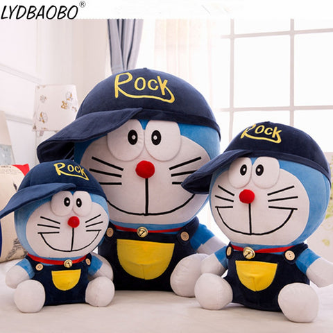 50/60cm Giant Doraemon With Hat Toy - tiny-tots-eco