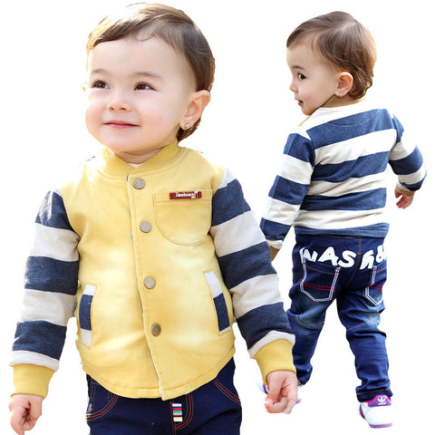 Quality Casual Baby Boy Clothes Set - tiny-tots-eco