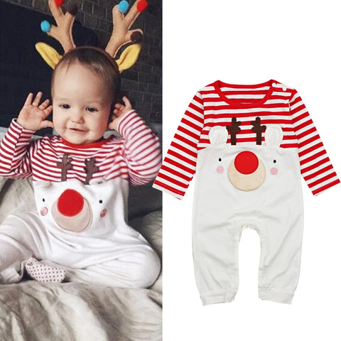 Cute Christmas Reindeer Outfit For Babies - tiny-tots-eco